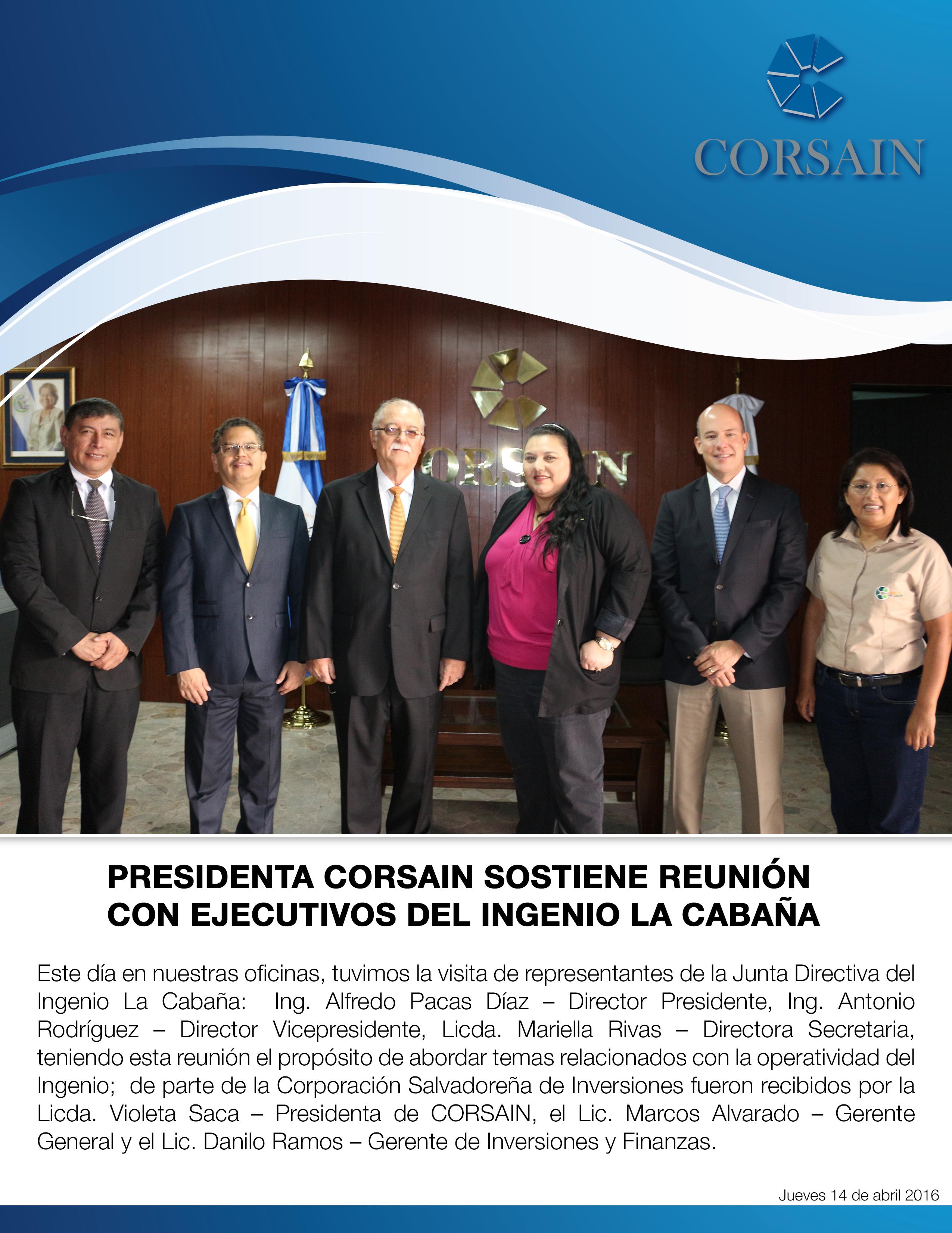 Reunion con Cabañas