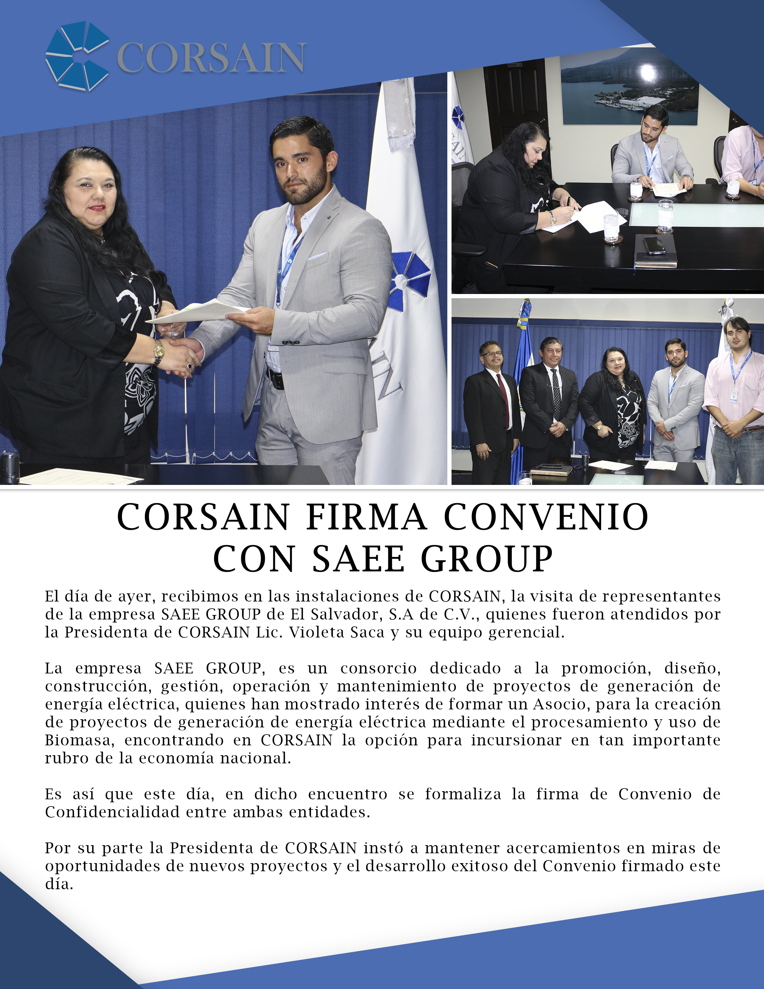 Sae Group Comunicado