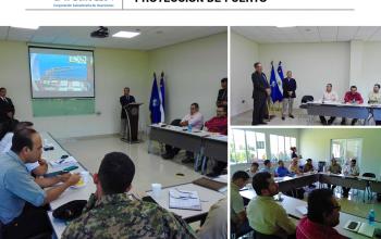 CORSAIN Participa en Reunión de Coordinación para Prácticas de Protección de Puerto.